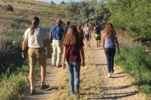 youth hike